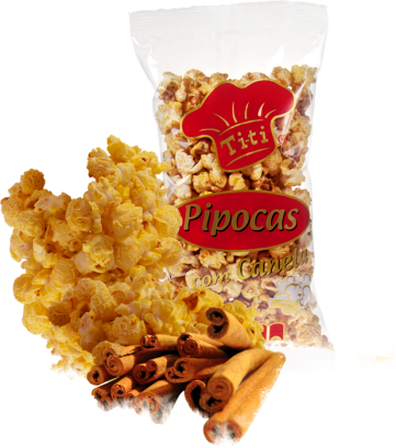 Sweet Popcorns with Cinnamon