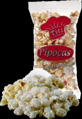Salty Popcorns